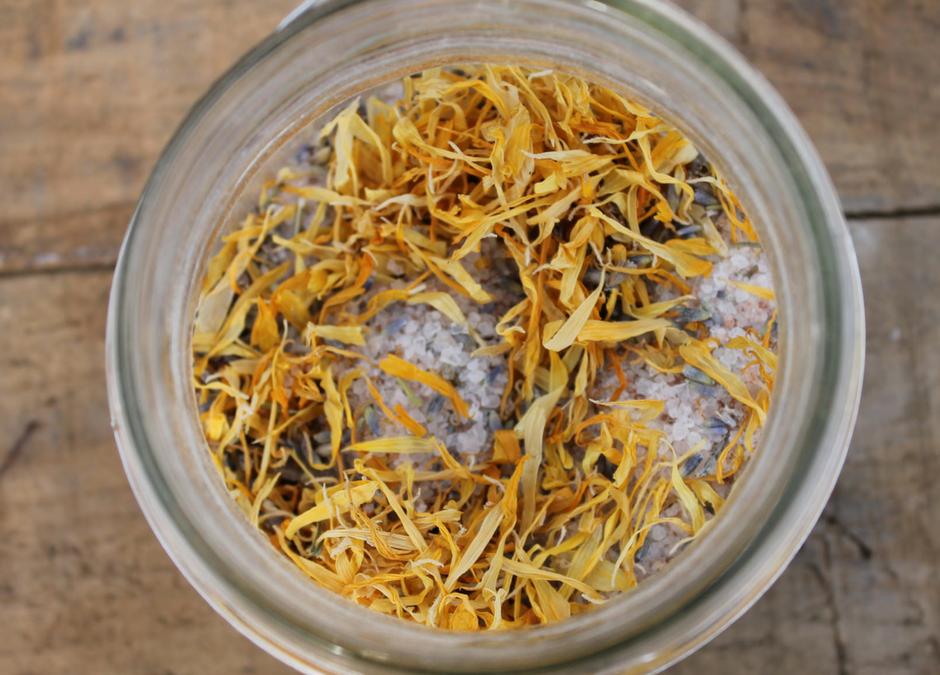 Soothing Herbal Bath Tea Recipe