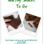 Healthy Snacks to Go Giveaway