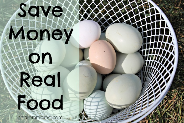 Save Money on Real Food