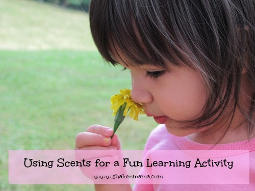 What's That Smell? Using Scents for a Fun Learning Activity
