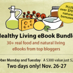 Cyber Monday Healthy Living Bundle 34 eBooks + $70 bonuses for $29!
