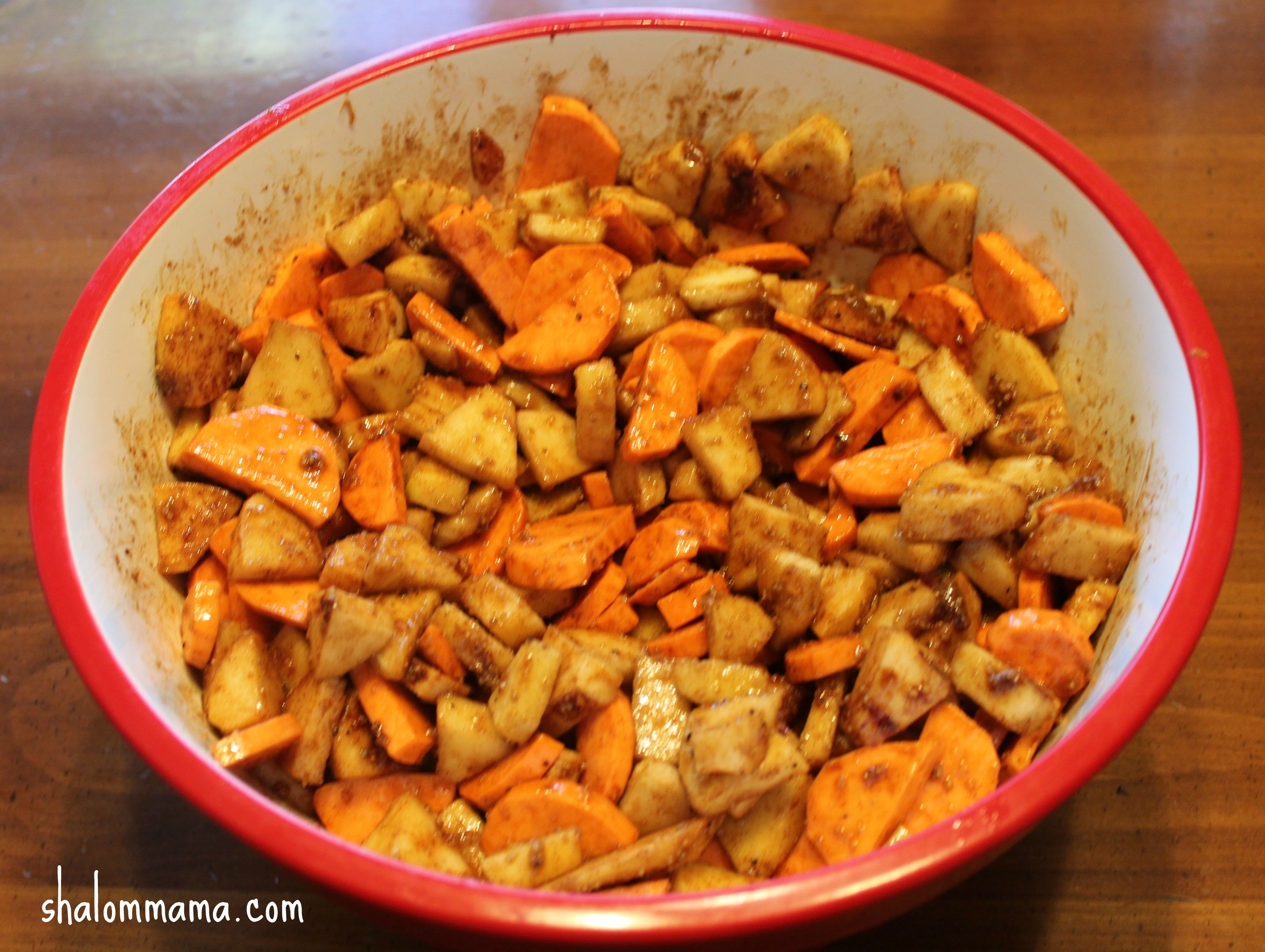 Sweet Potato And Apple Casserole Recipe — Dishmaps