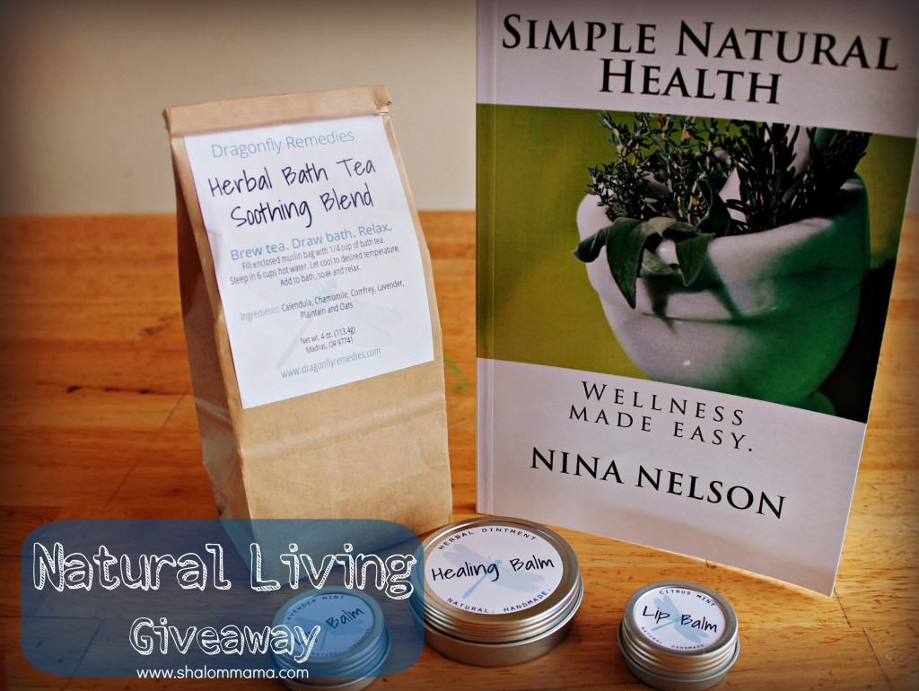 Natural Living Giveaway | shalommama.com