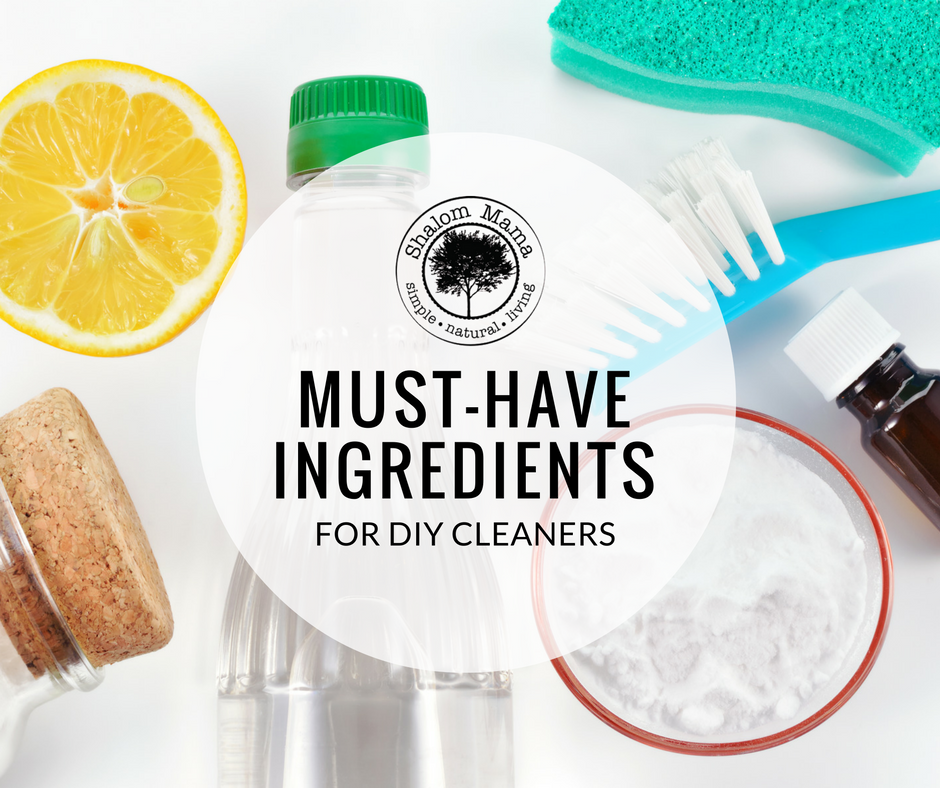 Must-Have Ingredients for DIY Cleaners