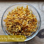 Calendula Balm for Dry Skin and Diaper Rash
