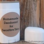 Homemade Deodorant for Sensitive Skin: Trials, Errors … and Success