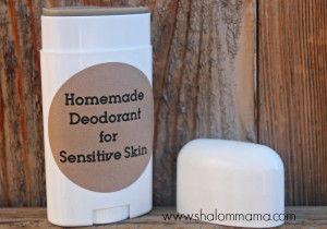 Homemade Deodorant for Sensitive Skin: Trials, Errors … and Success