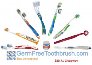 Germ Free Toothbrush Giveaway Winner (and a Coupon Code)