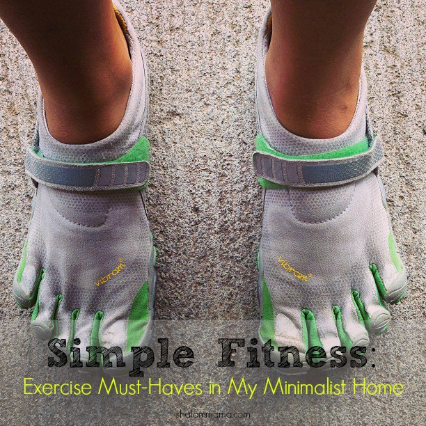 Simple Fitness Exercise Must-Haves in My Minimalist Home