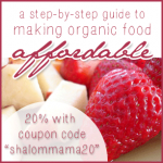 Making Organic Food Affordable: Giveaway Winner + Coupon Code