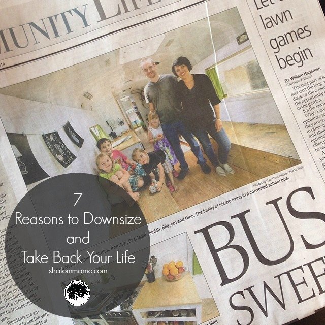 7 reasons to downsize and take back your life