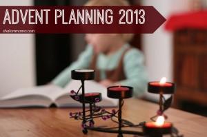 Advent Planning 2013