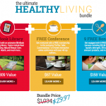 NEW Ultimate Healthy Living Bundle Sale (Awesome Sauce!)