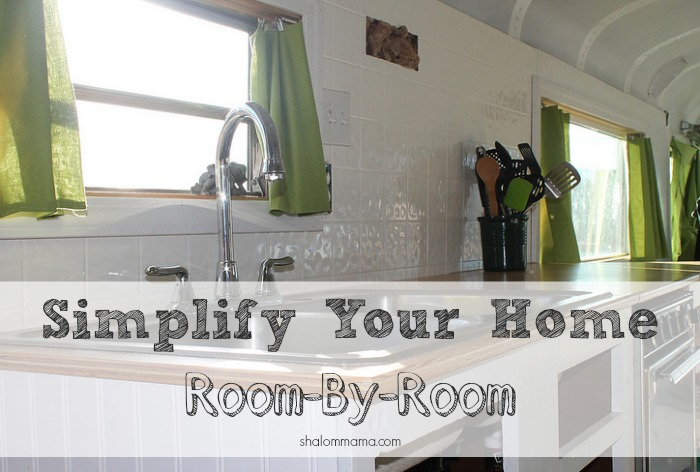 Simplify Your Home, Room-by-Room. Excellent, simple tips for reducing clutter and keeping your home more organized.