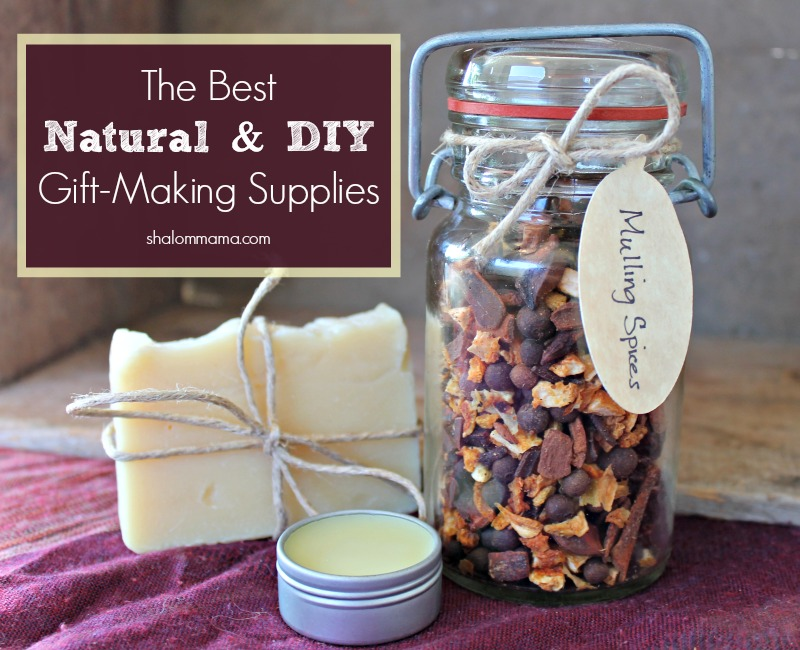 The Best Natural and DIY Gift-Making Supplies