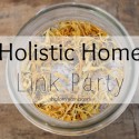 Holistic Home Link Party  shalommama.com