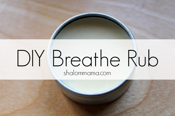 DIY Breathe Rub
