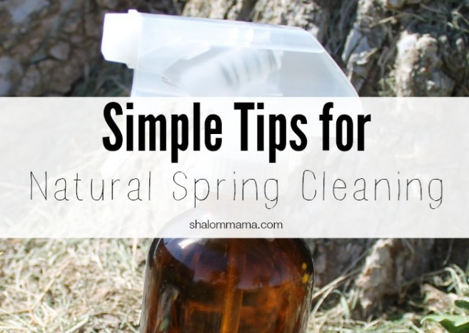 Simple tips for natural spring cleaning