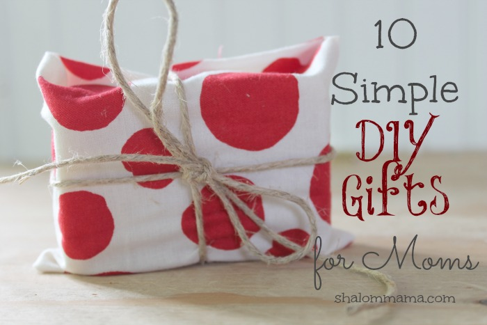 10 simple diy gifts for moms tiny apothecary Christmas ideas for mothers
