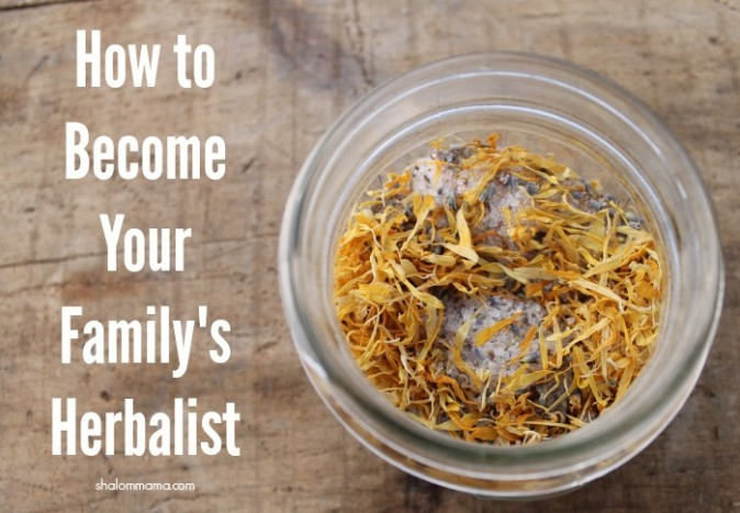How to Become Your Family's Herbalist | Shalom Mama