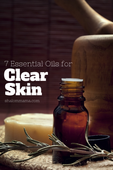 7 Essential Oils for Clear Skin. Plus, learn how to get a free bottle of Immortelle ($93 value) and a free diffuser from Shalom Mama.