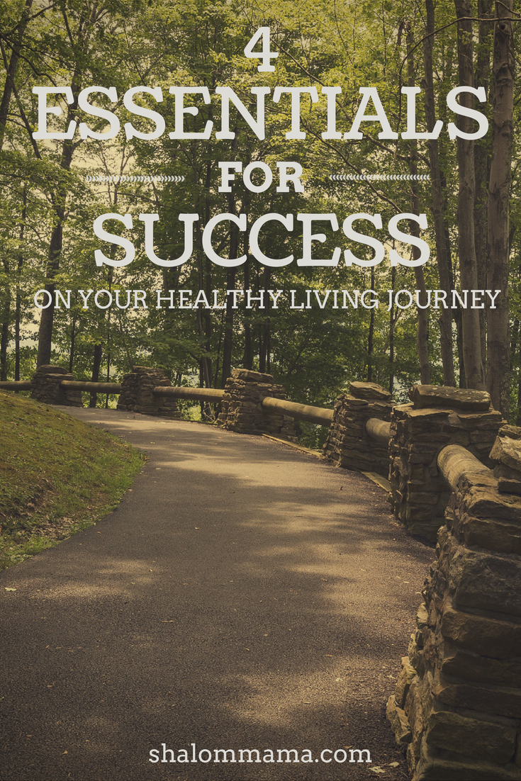 4 Essentials for Success on Your Healthy Living Journey