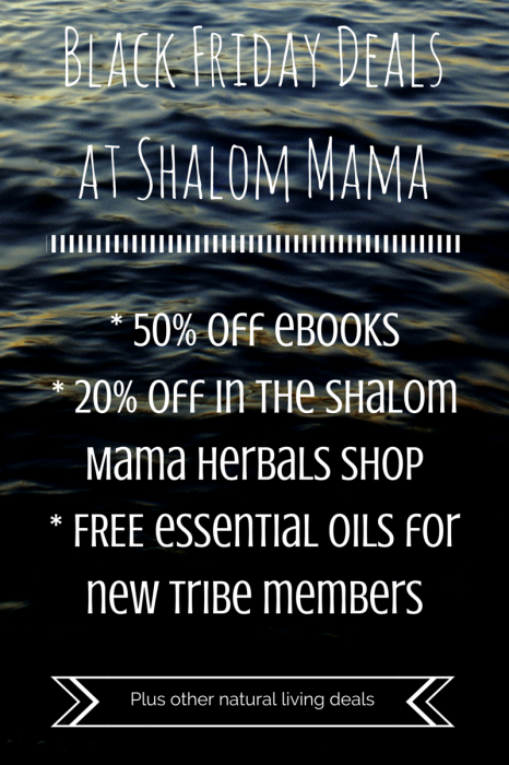 Black Friday Deals at Shalom Mama