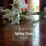 3 Areas to Spring Clean You!