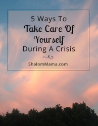 5 Ways To Take Care Of Yourself During A Family Crisis