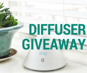 Diffuser Giveaway: Get your aromatherapy on!