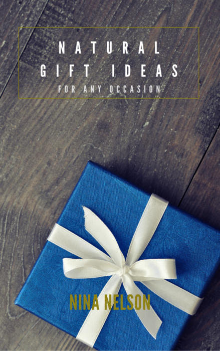 Natural Gift Ideas for Any Occasion - free ebook from Shalom Mama