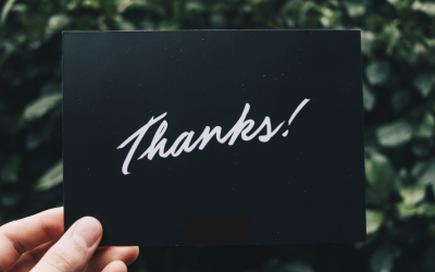 """Why self-care is as simple as saying """"thank you"""""""